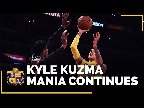 Video: Lakers Rookie Kyle Kuzma And What Makes Him So Good