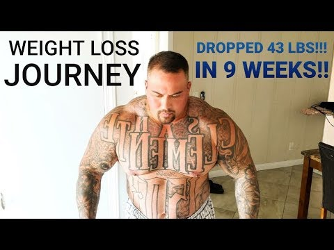 WEIGHT-LOSS JOURNEY   I'VE LOST 43 POUNDS IN 9 WEEKS - WEIGH IN AND HEAVY DEADLIFTS