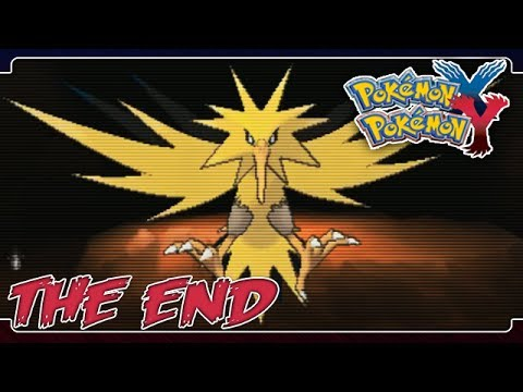 Pokemon X and Y Playthrough Part 56 - Catching Zapdos!