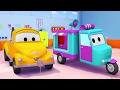 Download Lagu Tom la Grúa y el carro de caramelos en Auto City | Dibujos animados para niños Mp3 Free