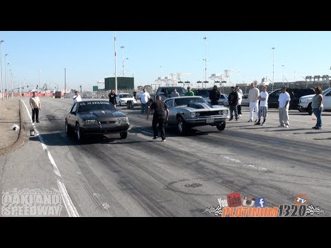 496 BBC Nitrous '67 Camaro vs. LSX Nitrous Mustang