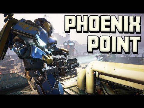 Phoenix Point - Randomly Generated Missions - Backer Build Gameplay (видео)