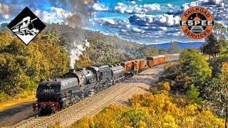 Goulburn Australia  City new picture : Beyer-Garratt 6029 To Goulburn - Steam Trains Australia