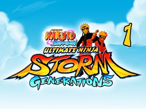 Naruto Shippuden Ultimate Ninja Storm Generations - Walkthrough Part 1 Hatake Kakashi PS3 XBOX 360