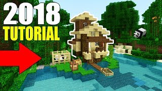"""Minecraft Tutorial: How To Make A Jungle House 2018 Tutorial """"1.8 Update Jungle House"""""""
