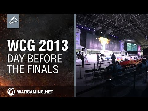 WCG 2013: Day Before the Finals