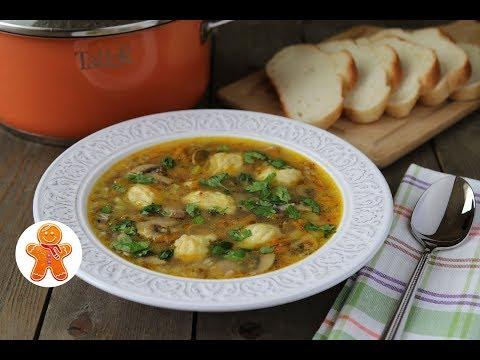 Гречневый Суп с Картофельными Клецками (видео)