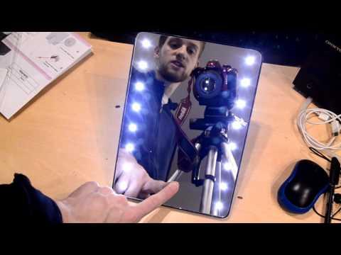 recesione e test - Wawoo® Specchio da Trucco 16 LED Luce Regolabile