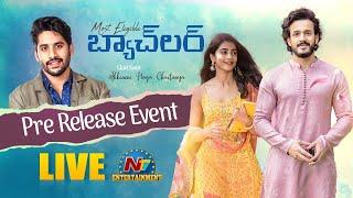 Most Eligible Bachelor Pre Release Event LIVE   Akhil Akkineni   Pooja Hegde  