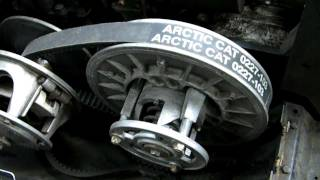 7. Arctic Cat Drive Belt Removal