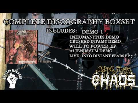 Order From Chaos - Frozen in Steel Boxset