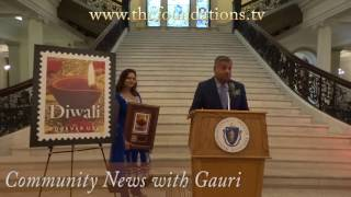 Diwali Celebrated at The Massachusetts State House