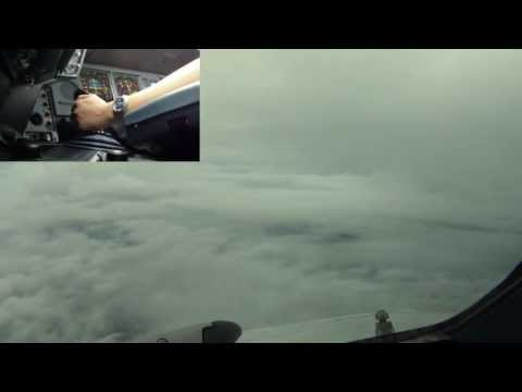 Pilot's-eye View - Landing in Stormy Weather