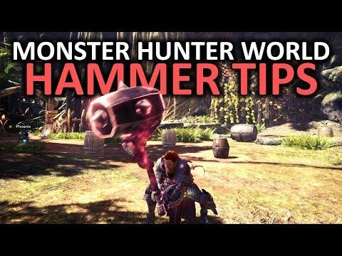 Monster Hunter World Hammer Tips