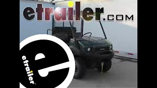 1. Installation of the Superwinch LT2000 ATV Winch on a 2010 Kawasaki Mule - etrailer.com