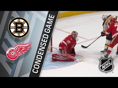 Boston Bruins vs Detroit Red Wings  Dec. 13, 2017  Game Highlights  NHL 201718. Обзор матча