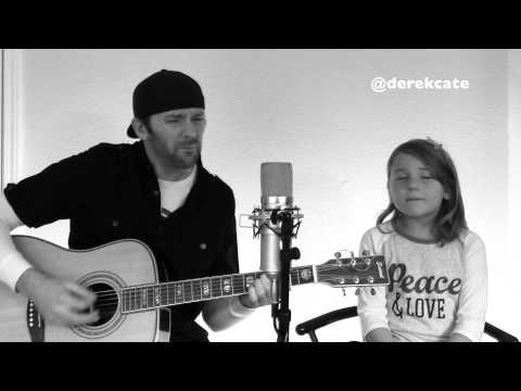 Me And My Daughter Singing - Eminem Ft Rihanna The Monster (Acoustic)