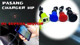 Video TUTORIAL Pasang Charger HP di Sepeda Motor | charger hp untuk motor MP3, 3GP, MP4, WEBM, AVI, FLV November 2018