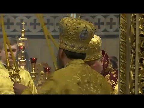 Ουκρανία: Πρώτη λειτουργία για την αυτοκέφαλη εκκλησία…