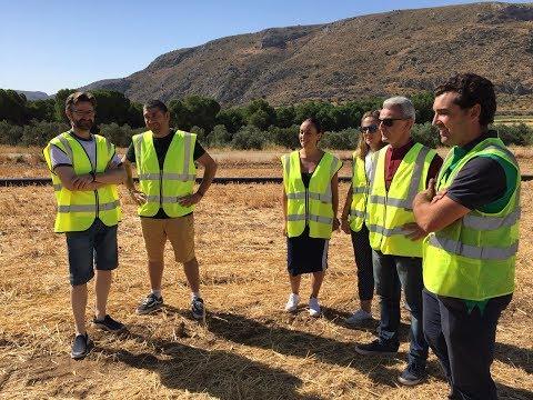Tercera fase de las obras de sustitución de la red de agua de Majavea