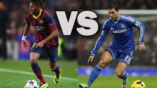 Eden Hazard Vs Neymar Jr - Amazing Skills Battle 2014/2015 ||HD||