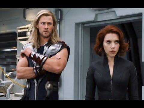 The Avengers Movie Trailer in HD 2012 - Robert Downey Jr, Chris Hemsworth