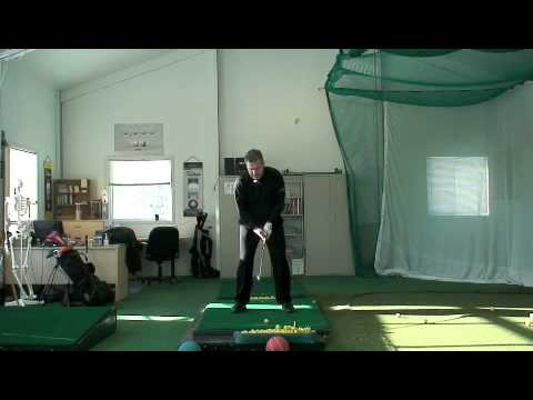 2008 Golf Swing Review Part 1 Heel Down; #1 Most Popular Golf Teacher on You Tube Shawn Clement
