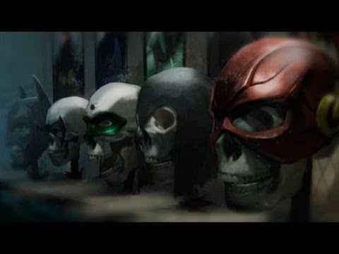 Injustice: Gods Among Us - All Endings (Multilanguage Subtitles)