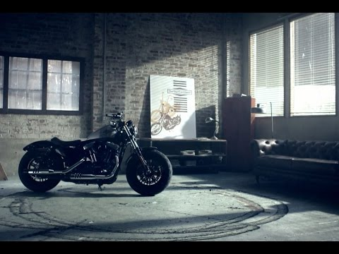 "harley-davidson ""forty-eight"" 2016"
