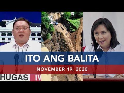 UNTV: Ito Ang Balita | November 19, 2020