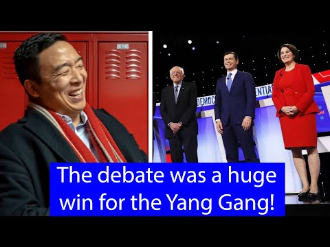Andrew Yang WINS The 7th Democratic Debates Without Even Attending It! #AmericaNeedsYang