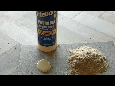 Homemade Wood Putty