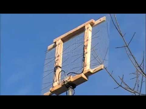 home made antenna binder clip hdtv antenna part 1 vhf