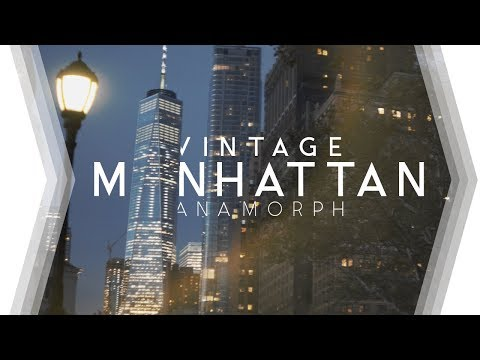 New York through Vintage Lens (ANAMORPH) - Helios 44-2 + Anamorphot 1.33x & Sony A7S II