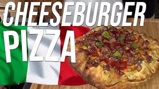 Bacon Cheeseburger Pizza recipe by BBQ Pit Boys