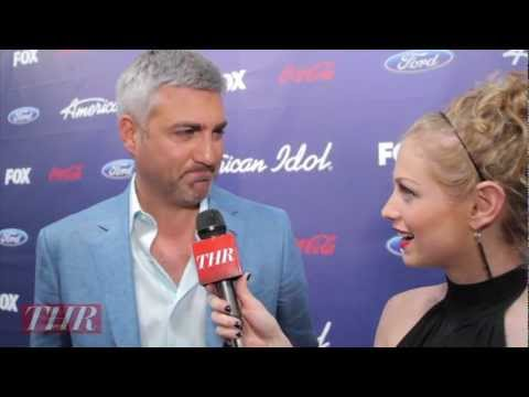 Taylor Hicks interview after he appeared on Idol 2012