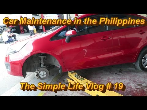 Cost of Car Maintenance in the Philippines : Angeles City,Philippines-The Simple Life Vlog # 19