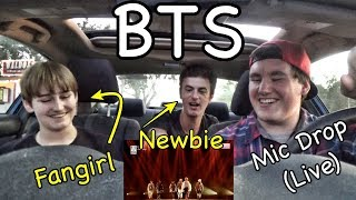 Video BTS - Mic Drop (LIVE SHOW) Reaction [THE BEST BTS SONG!?] MP3, 3GP, MP4, WEBM, AVI, FLV Mei 2018