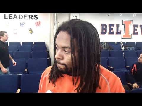 Tavon Wilson Interview 12/4/2011 video.
