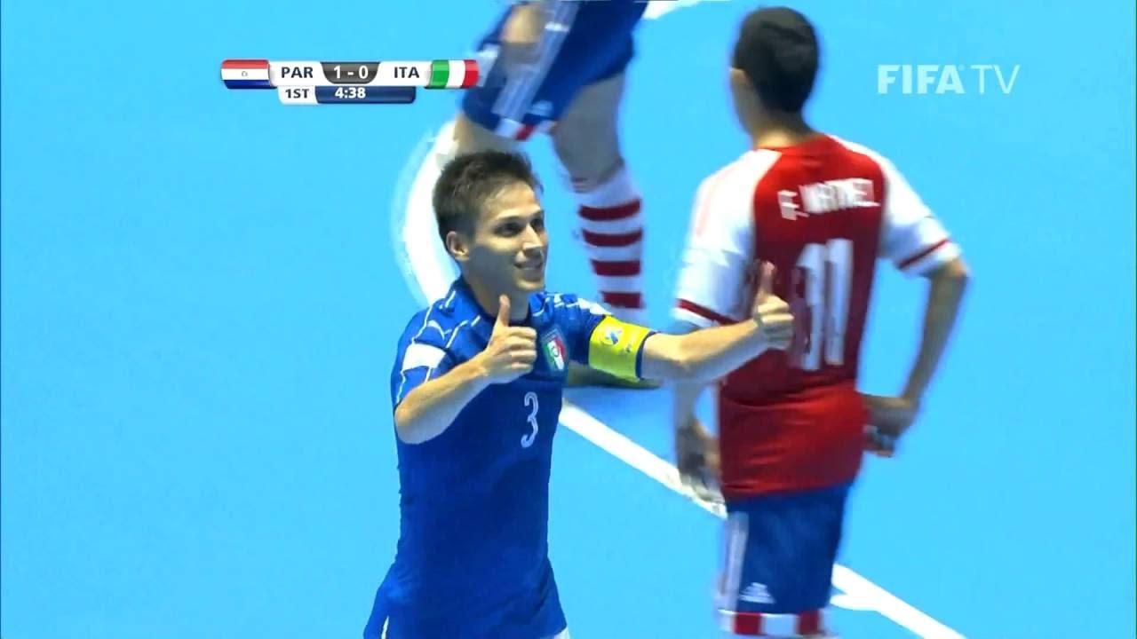 Match 5: Paraguay v Italy – FIFA Futsal World Cup 2016