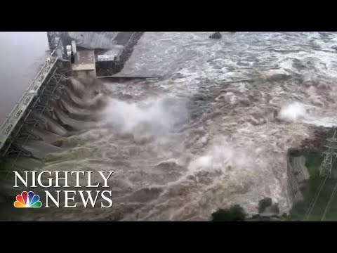 Major Flood Emergency Along Texas' Llano River | NBC Nightly News
