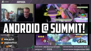 "Android is Going to Summit! (as Armada's ""coach"")"