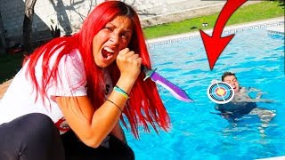 Video LANZAMOS LOS CUCHILLOS AL AGUA!! CUCHILLO FLIP CHALLENGE Flippy Knife MP3, 3GP, MP4, WEBM, AVI, FLV Agustus 2018