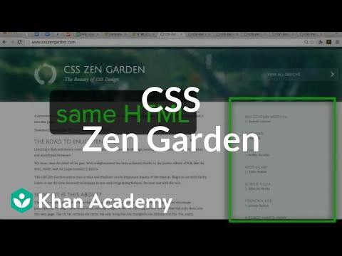 css zen garden video css text properties khan academy - Css Zen Garden