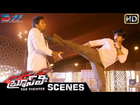 Ram Charan Fight Scene | Bruce Lee The Fighter Telugu Movie Scenes | Rakul Preet | Ali