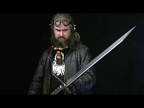 Close-up look at 'Big Giant Swords'