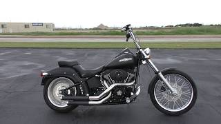 1. 094501 - 2007 Harley Davidson Softail Night Train   FXSTB - Used motorcycles for sale
