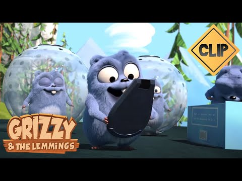 Grizzy et les Lemmings coincés dans des bulles  - Grizzy & les Lemmings