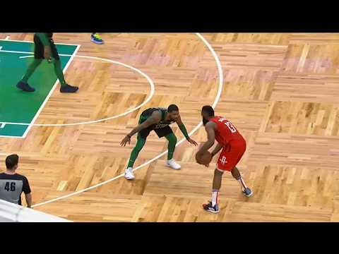 James Harden's crazy stepback three over Kyrie and Tatum