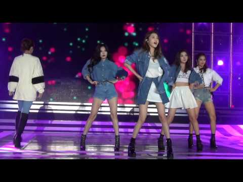 "20140928 4minute ""whatcha doin' today"" shortcut at Hallyu Dream Festival"